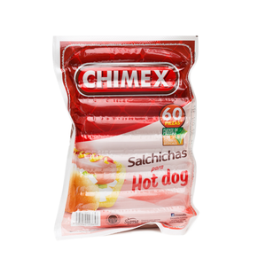 SALCHICHA HOT DOG 3KG C/T CHX